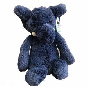 "NWT 12"" JELLYCAT SOFT Bashful Blue Elephant"